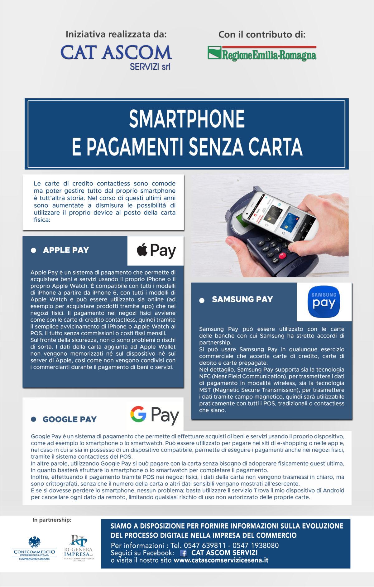 SMARTPHONE  E PAGAMENTI SENZA CARTA